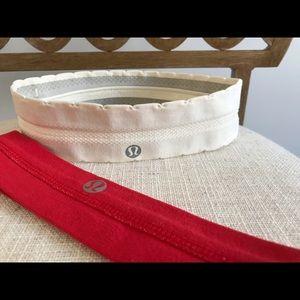 2 Lululemon headbands!